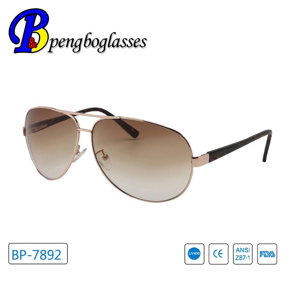 2017 style cool round frame unisex aviator sunglasses