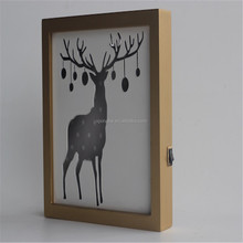 Wholesale chic plaques wall wooden decor home decoration