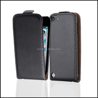 Magnetic Genuine Real Flip Leather Case Wallet Cover for Apple iPod Touch 5th Generation