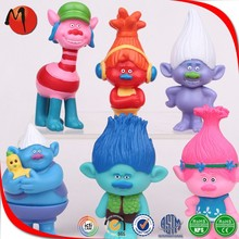 Custom Made Dreamworks Movie Trolls Mini Action Figure Toys