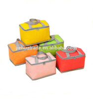 Korean best selling Outdoor picnic fitness nonwoven insulated lunch bag cooler bag