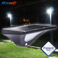 Solar powered outdoor led lights cheapest solar lamp waterproof garden solar lights with IP65