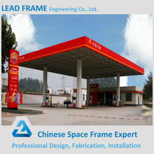 Steel structure petrol station shed design