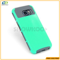 Wholesale Cheap 2 In 1 TPU PC Hybrid Phone Case For Samsung s6