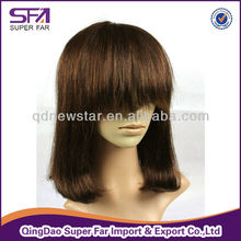 silk top injected half hand made medical wig