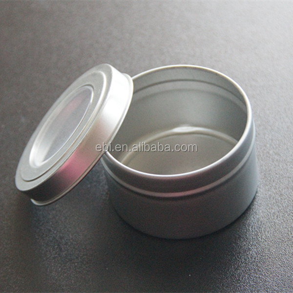 aluminum cosmetic gift packaging box