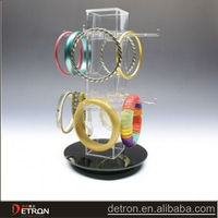 clear steady acrylic bangle display stand