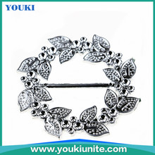 hot selling high quality silver gold plastic women belt buckle