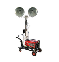 Factory price portable mobile lighting tower generator