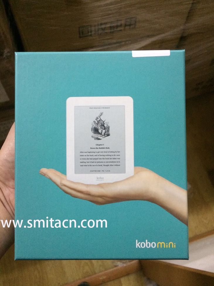 Kobo Mini E-Reader ebook 2GB, WIFI 5 Inch Screen- Black /White