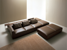 Modern Fabric Corner Sofa Fashion U Shape L Shape Leather Sectional Sofa