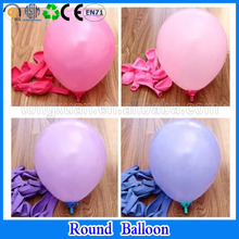 Assorted balloons rubber round wedding decoration balloon