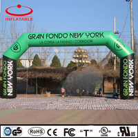 advertising inflatable arch door, custom made inflatable archway
