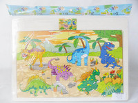 Educational Dinosaur World Wooden Puzzles 24PCS