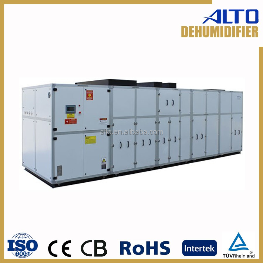 High-effect multi-functional used industrial dehumidifier 25 to 180 litre/h 380v ce ISO