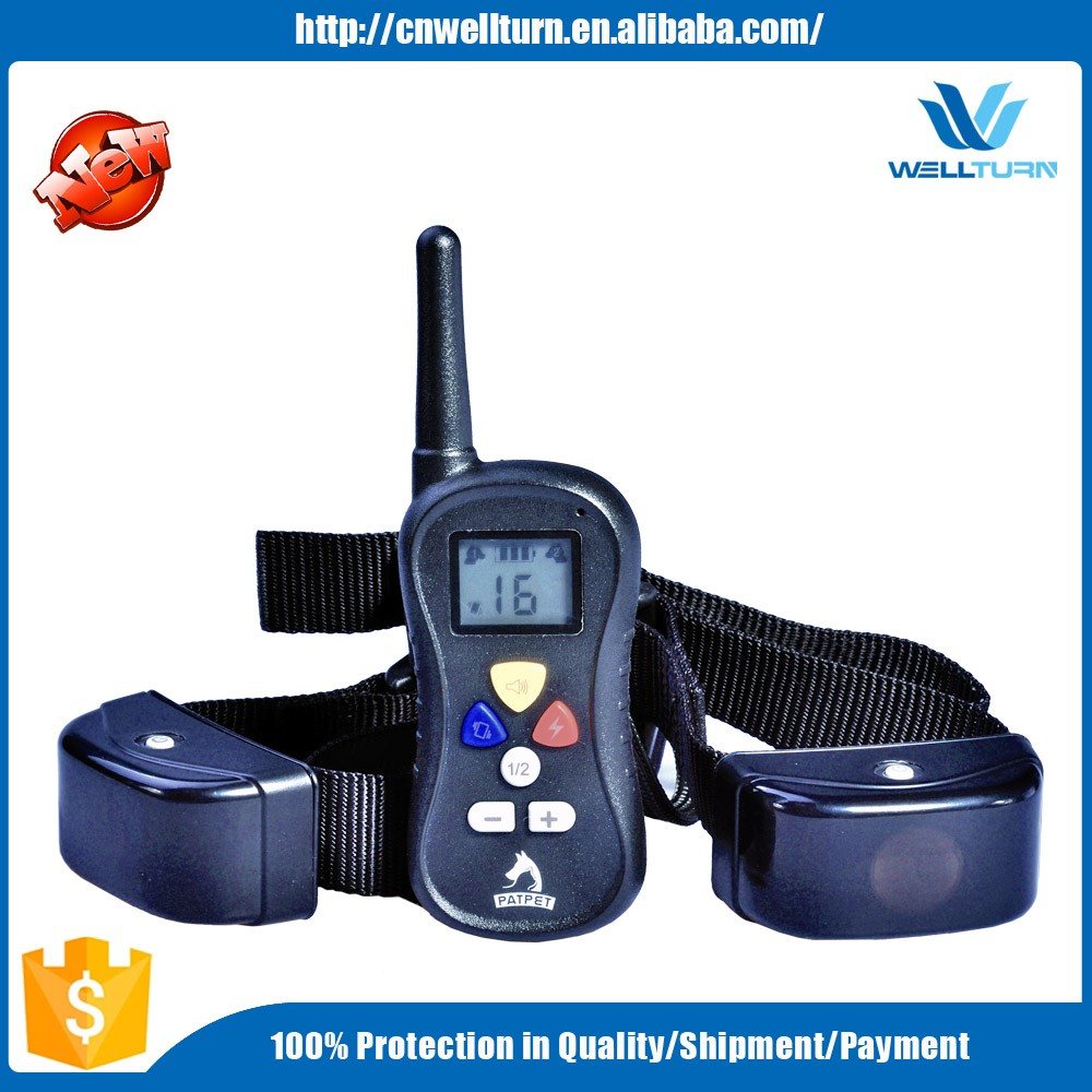 Electronic 300m Remote Pet Dog Shock Training Collar, Multi Dog Vibrate Static Beeep E Collar