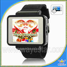Shenzhen Watch Phone 1.8inch QVGA Touch Screen Single Sim GSM Camera Bluetooth