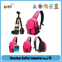 Promotional camera lens case,waterproof camera sling bag,bag girl
