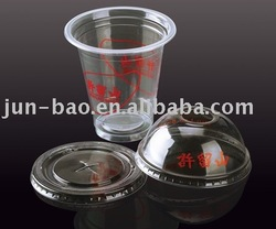 Factory wholesale 350ml 12OZ disposable plastic cup with lid