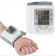 made in China Home Use Automatic Wrist Type electric digital blood pressure monitor