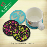 Guangzhou Hot sale table helper heat resistant soft pvc coffee pad