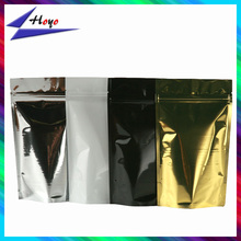 round bottom standing up bags with zipper 4 colors for your choice