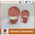 Healthy 16pcs dinner set hand made crockery