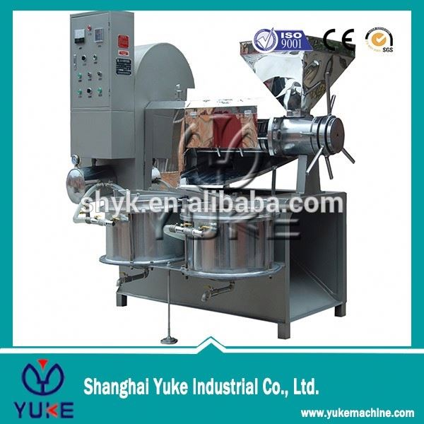 High capacity sun flower oil press machine