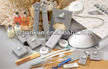 Luxury hotel disposable products/items