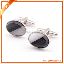 Wholesale brass bulk cufflinks for mens shirt sliver blank cufflinks