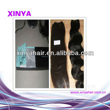Wholesale & Retail Grade AAAAA Virgin Indian hai with custom hair packaging