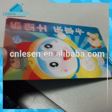 High quality style of full-color 3 d holographic printing PVC card