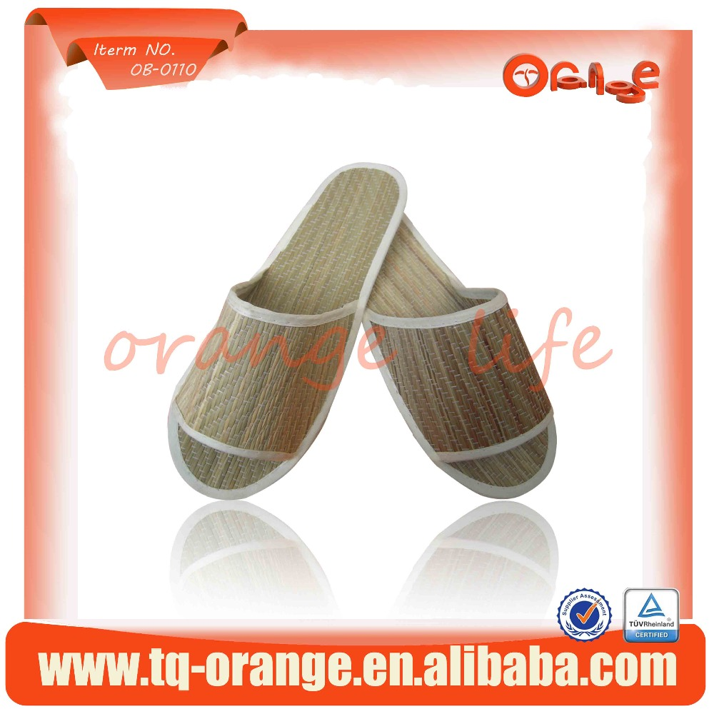 Personalized Disposable Bamboo Slippers Shoes