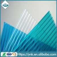 twin wall polycarbonate hollow sheet polycarbonate glazing sheeting prices