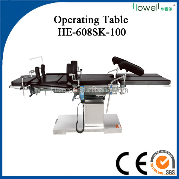 Electro Hydraulic c-arm operating tables surgical instruments used in operation