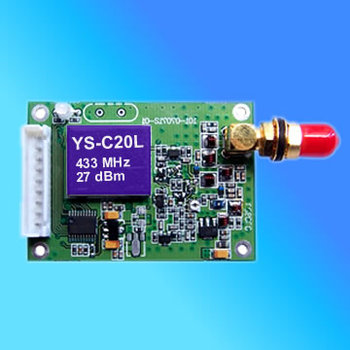 High performance 0.5W RF Data transceiver/ YS-C20L RF module emisoras 433mhz