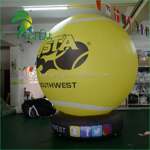 Promotion Inflatable Sphere Balloon With Base Outdoor