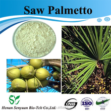 100% Natural saw palmetto/saw palmetto p.e./saw palmetto extract powder 25% CAS :84604-15-9