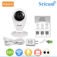 Sricam SP009A CMOS Full View HD 720P Infrared Night Vision Wireless Wifi IP Camera with Two Way Audio Function