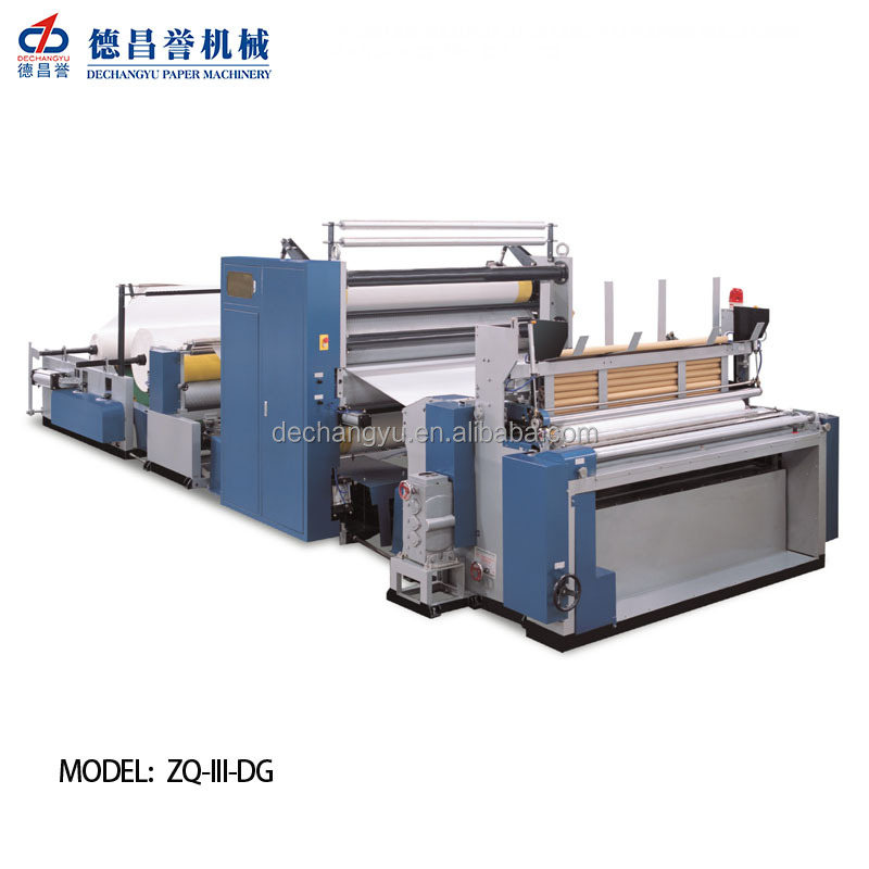 Latest Wholesale Prices full automatic toilet paper processing and printing machine cost