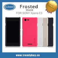 Shenzhen phone case and Nillkin frosted shield back cover case for sony xperia e3 s50h