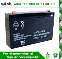 Promotional 6v 9ah Backup UPS Battery