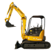 mini crawler excavator for sale cheap and high quality
