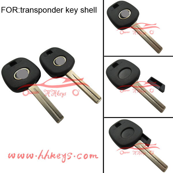 TOYOTA / LEXUS -Replacement Transponder Car Key Shell Key Blank-Free Postage