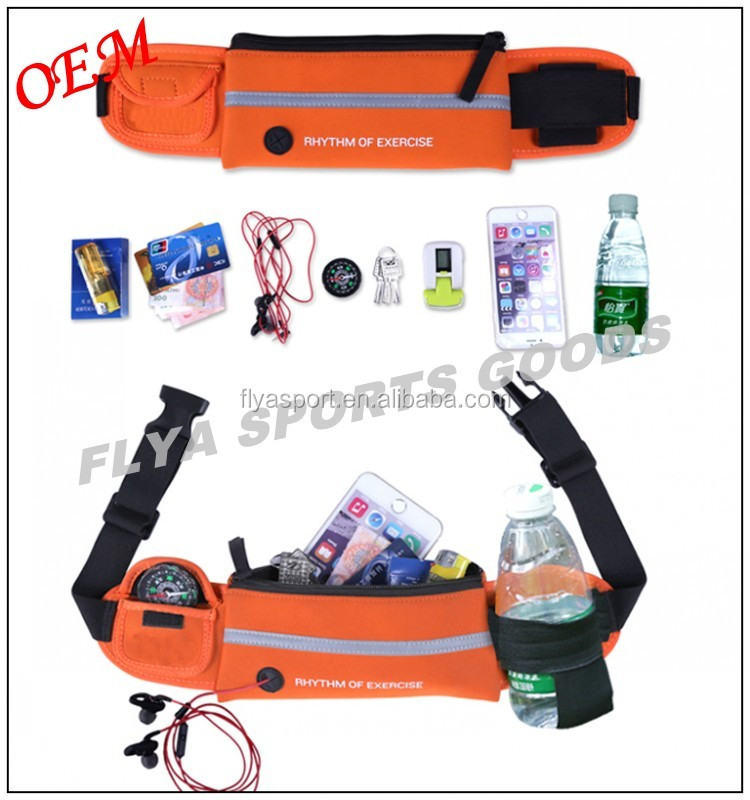 2016 popular most high quality hot wholesale fashion sport running waist belt