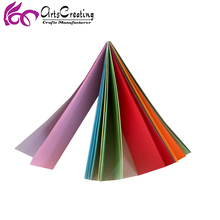 70gsm kids DIY assorted color craft paper /origami paper