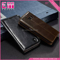 For Samsung Galaxy S7/S7 edge Flip Leather Case,Wallet Case With Card Slot For Samsung S7/S7 edge