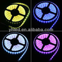 5m 60leds/m Flexible 24v RGB 5060 rgb 5050 decorative waterproof smd 12v ip68 led strip 20m
