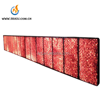 customized Poultry Gas Infrared Heater for farm indoor heating system