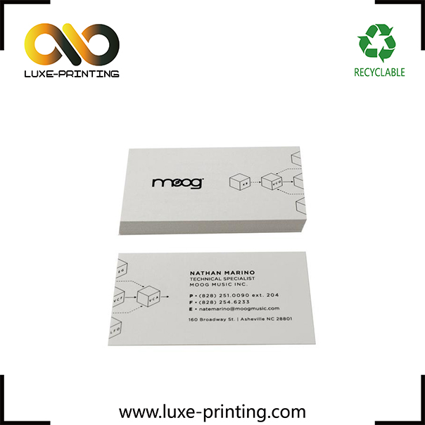 Paper business cards printing / custom design name cards / good quality cotton paper cards